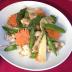 春野菜と豚肉の炒め物