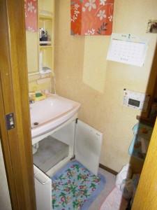 洗面化粧台 壁紙 クロス