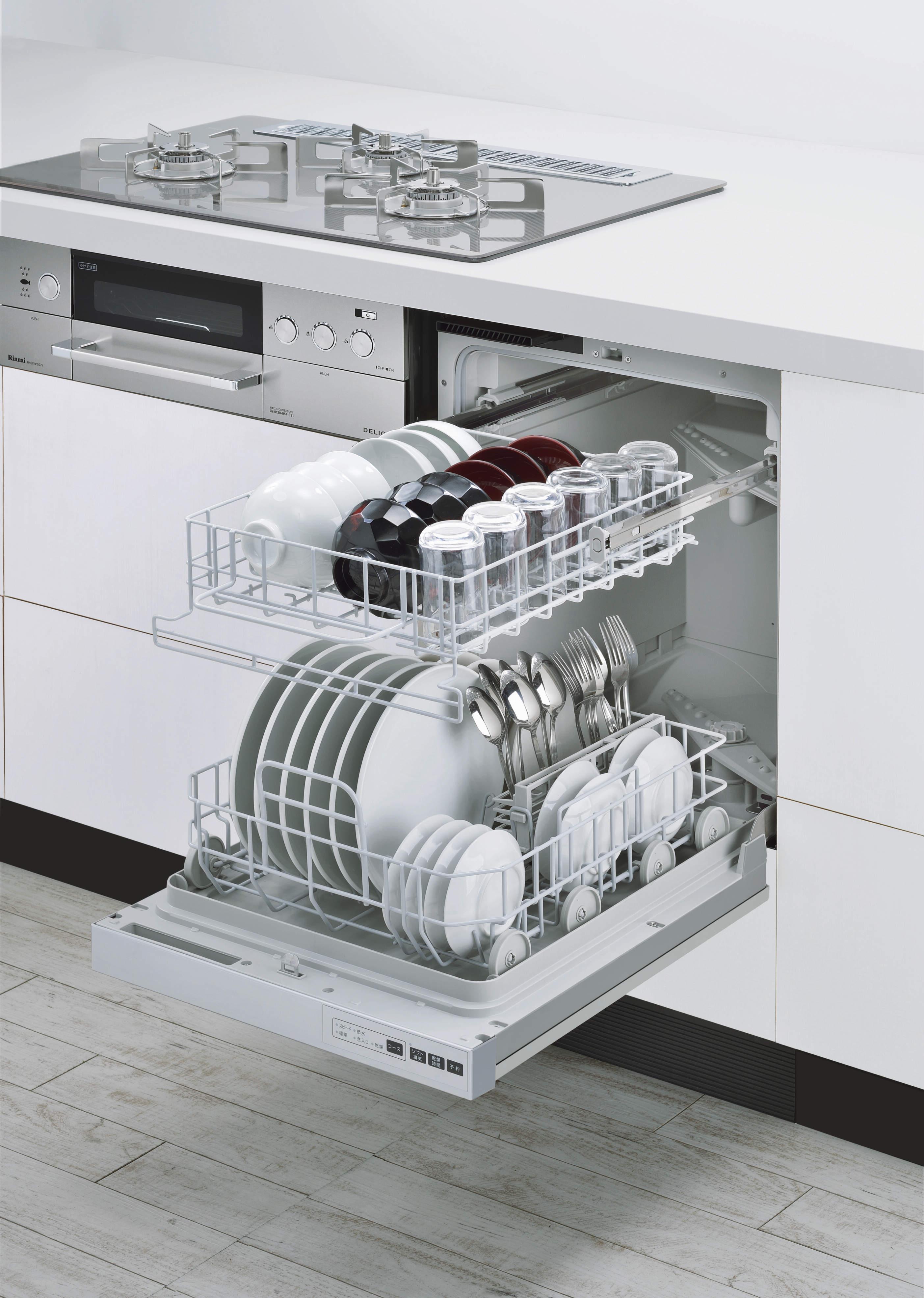 フロントオープン食洗機