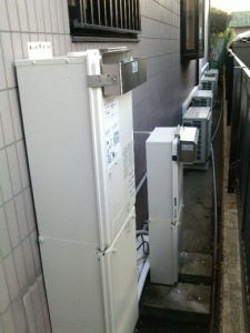 ガス床暖房熱源機