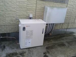 石油温水暖房熱源機