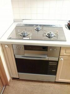 オーブン ビルトインコンロ