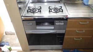 ビルトインコンロ ガスオーブン