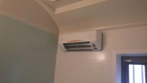 浴室電気暖房